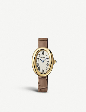 CARTIER CRWGBA0007 Baignoire 1920 18ct yellow-gold watch