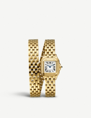 CARTIER Panthère de Cartier 18ct yellow-gold watch