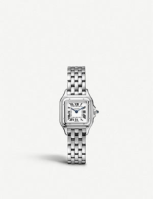CARTIER Panth?re de Cartier small stainless steel watch