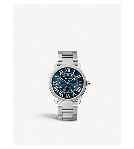 ... CARTIER Ronde Solo de Cartier steel watch. PreviousNext d3070b43a73