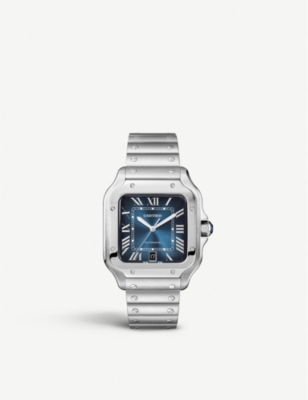 CARTIER WSSA0013 Santos de Cartier stainless steel watch