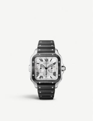 CARTIER WSSA0017 Santos de Cartier stainless-steel automatic watch