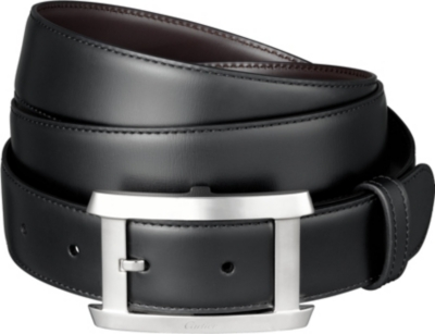 CARTIER Reversible strap belt