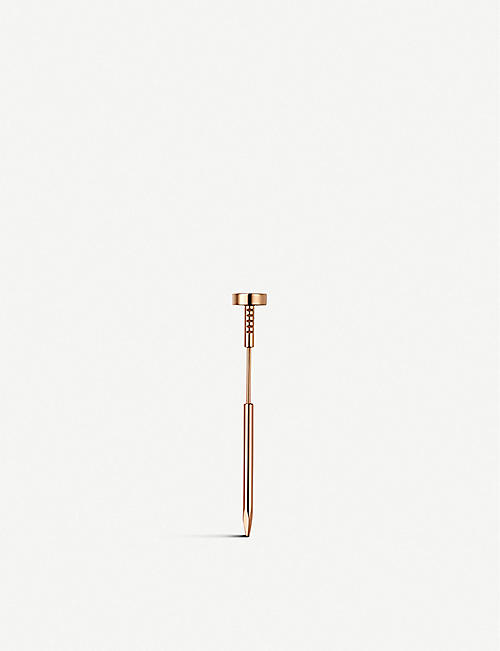 CARTIER: Juste Un Clou 18ct pink-gold tie pin