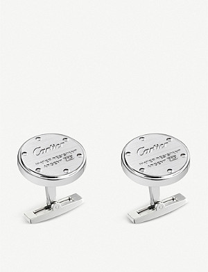 CARTIER Water-resistant decor cufflinks