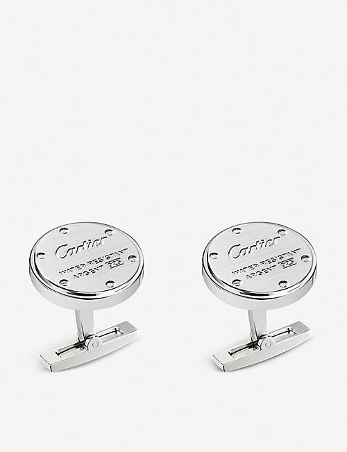 CARTIER: Water-resistant decor cufflinks
