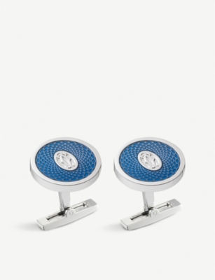 CARTIER Rose decor cufflinks