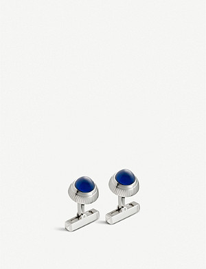 CARTIER Santos de Cartier watch crown decor cufflinks