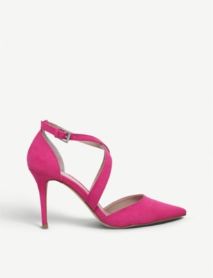 CARVELA Kross 2 faux-suede courts