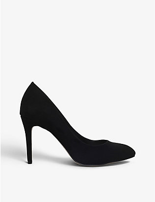 CARVELA: Aimee stiletto-heel suede courts