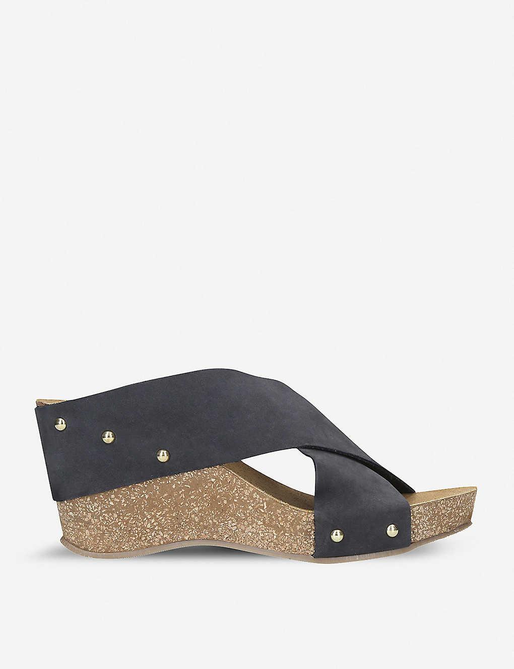 416319f98ecc CARVELA COMFORT - Sooty suede wedge sandal