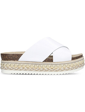 CARVELA Kake flatform leather sandals