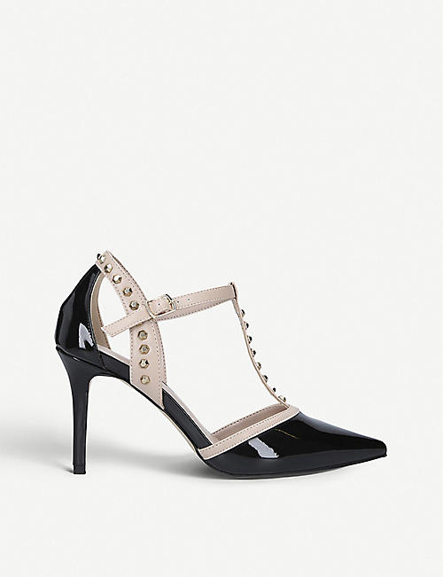 CARVELA Kankan patent faux-leather courts