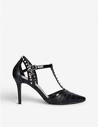CARVELA: Kankan crocodile-embossed courts