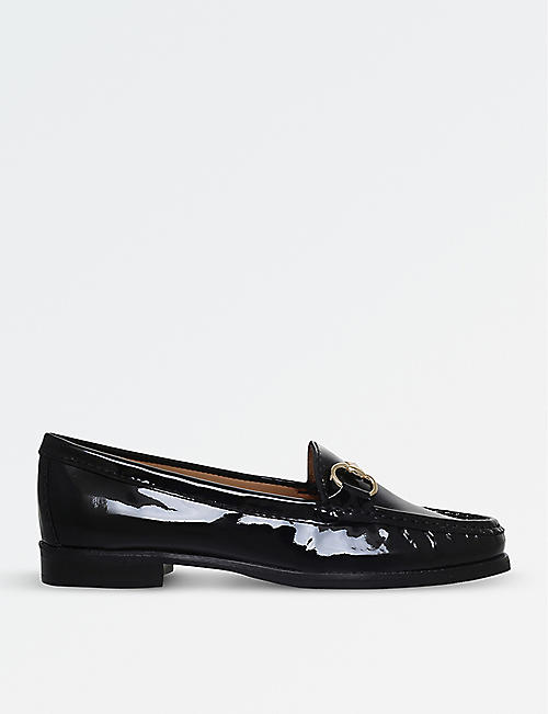 CARVELA COMFORT: Click 2 patent leather loafers
