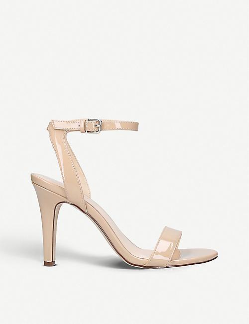 07a704384d5 NINE WEST Aniston patent-effect sandals