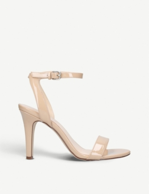 NINE WEST Aniston patent-effect sandals