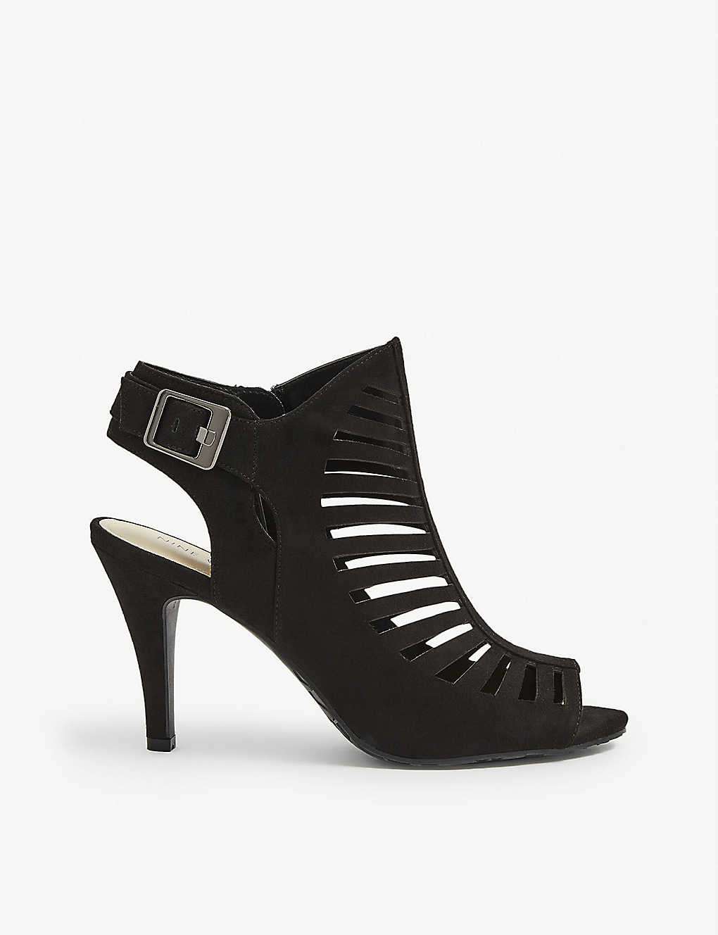 NINE WEST: Suite peep-toe cutout sandals
