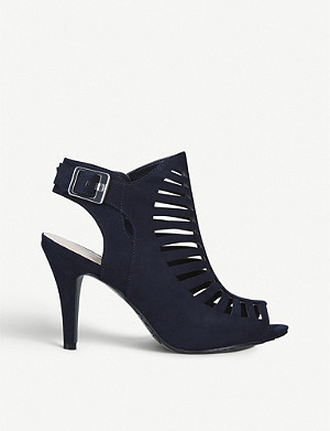 NINE WEST Suite faux-suede heeled sandals
