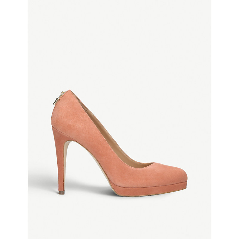 Antoinette Suede Courts, Rust