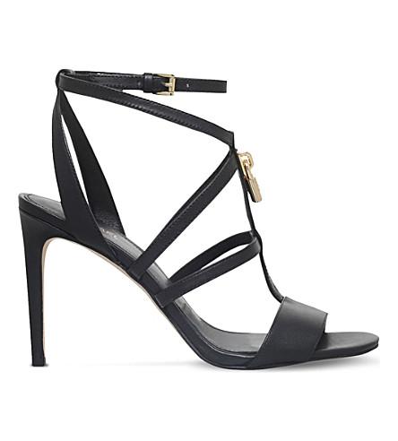 4ddb249518e9 MICHAEL MICHAEL KORS Antoinette leather sandals (Black
