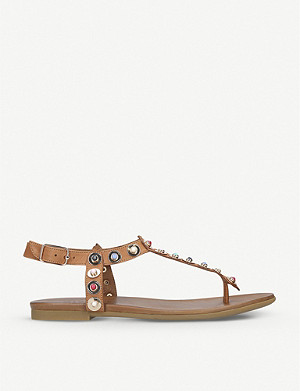 CARVELA Kankan leather sandals