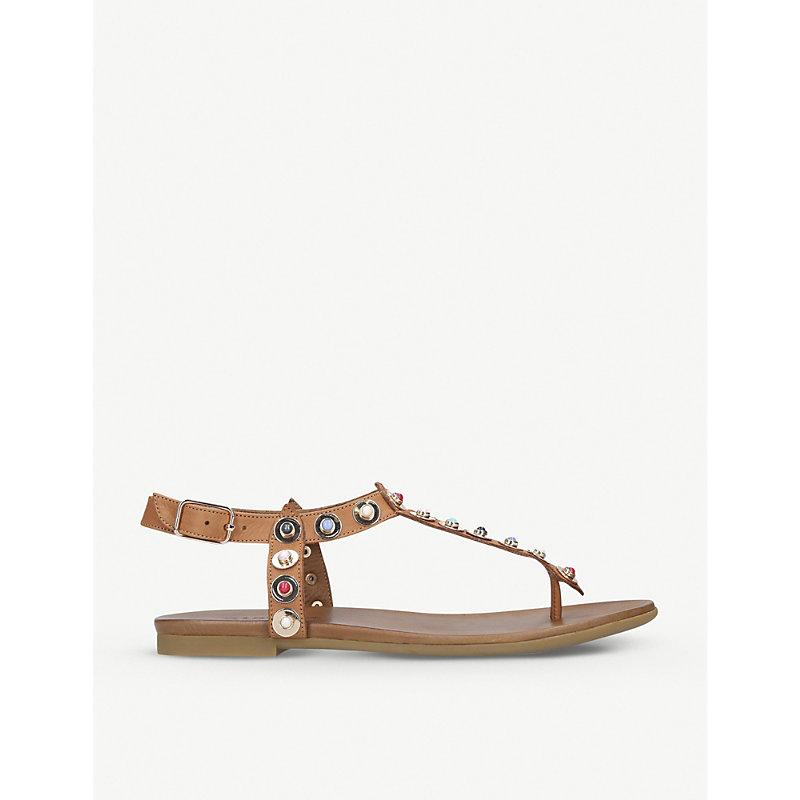 CARVELA | Kankan Leather Sandals | Goxip