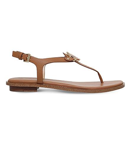 6d6022d4f88 MICHAEL MICHAEL KORS Lee leather sandals (Tan