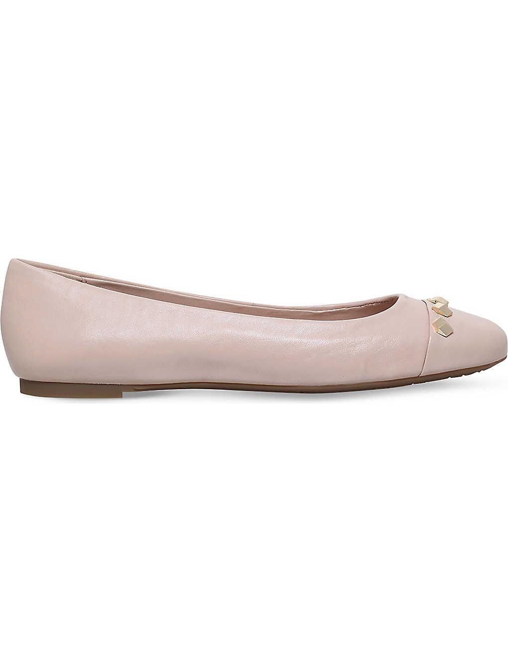 d1a023d6f MICHAEL MICHAEL KORS - Valencia leather ballerina shoes | Selfridges.com