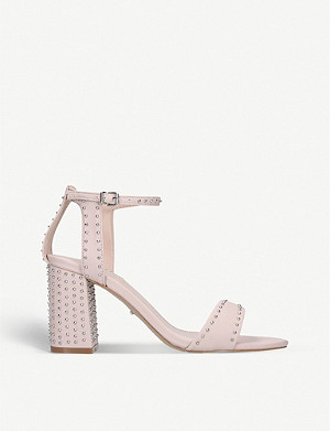 CARVELA Gogo leather block heel sandals