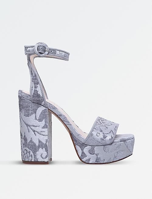 50e4d79ebef NINE WEST Krewl platform floral sandals