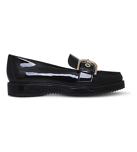 Cooper Patent-Leather Loafers in Black
