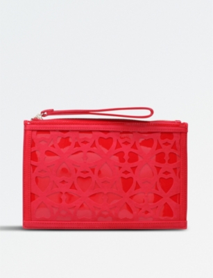 MISS KG Hearty suedette clutch bag