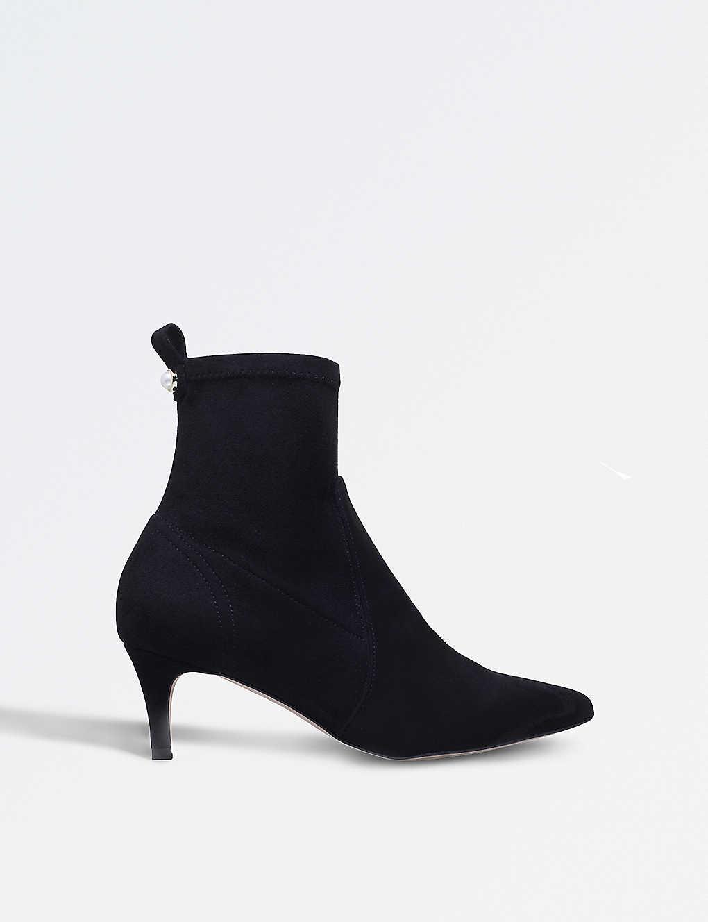 8b5112f3831 CARVELA - Scilly suedette ankle boots | Selfridges.com