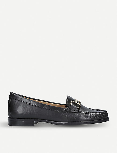 CARVELA COMFORT Click leather loafers