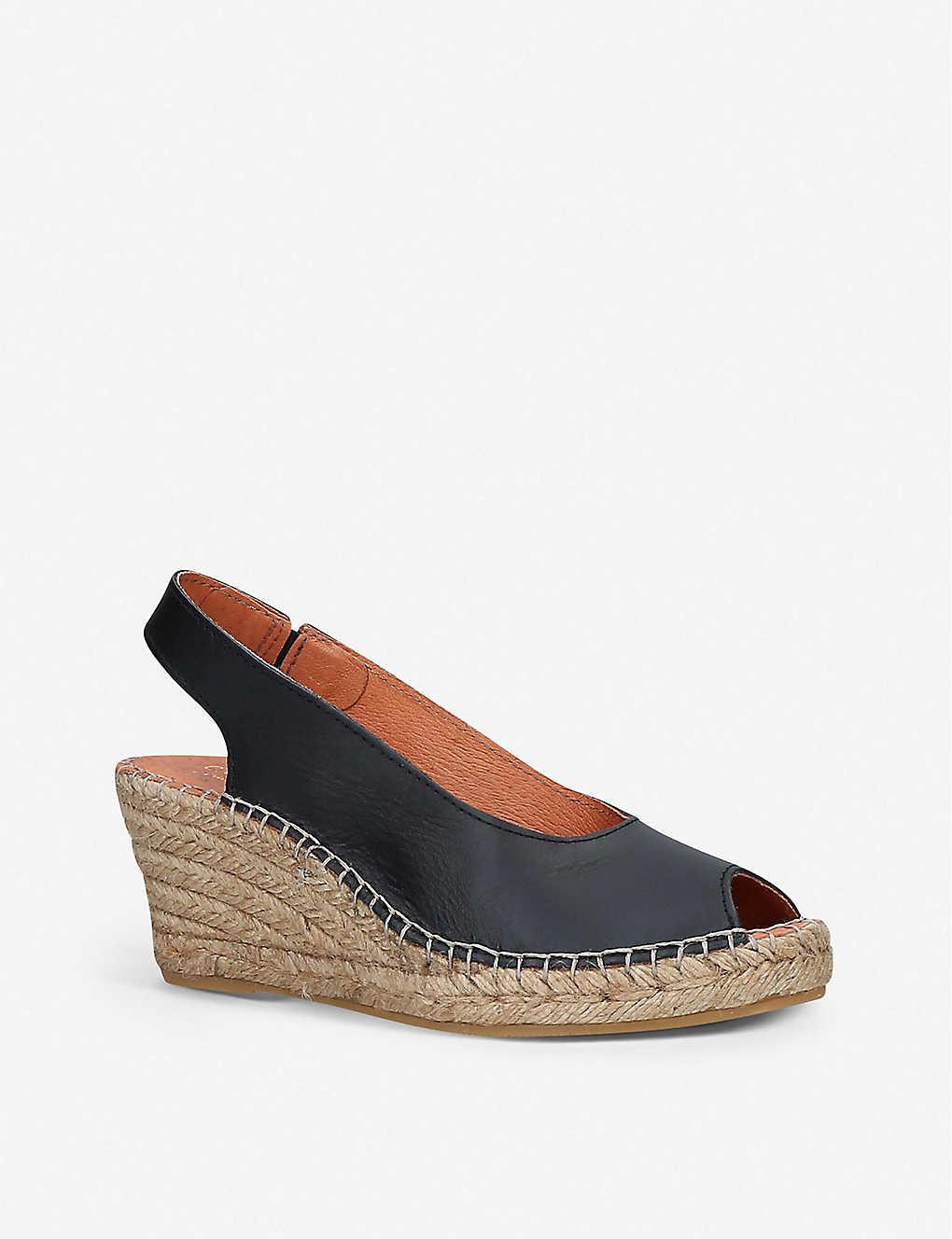 15b4194e4 CARVELA COMFORT - Sharon leather slingback wedge sandals ...