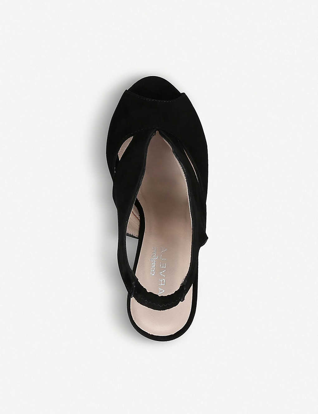 5c3e8ad731 CARVELA COMFORT - Alexa cut-out suede wedges | Selfridges.com