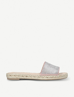 CARVELA Karly suede sliders