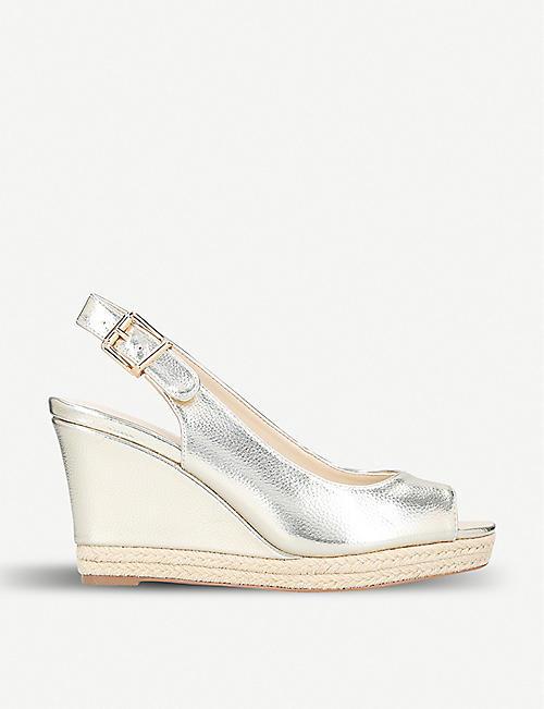 db96090968d7 NINE WEST Dionne wedge heel espadrille