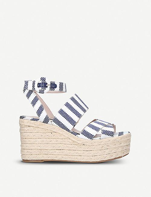 1d9e0f6ff14 NINE WEST - Kushala wedge heel sandals
