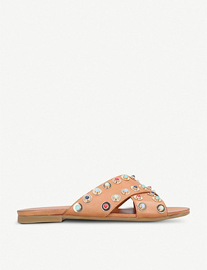 CARVELA Koncern studded leather sliders
