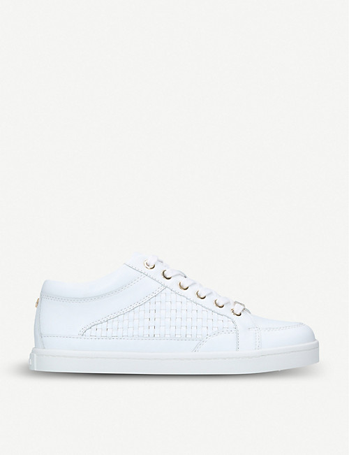 limited quantity great discount for promo code CARVELA - Legacy woven leather trainers | Selfridges.com