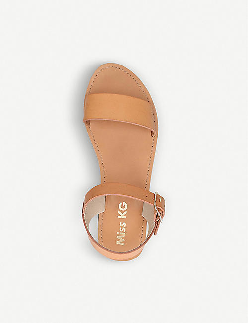 MISS KG Ruthie faux-leather sandals