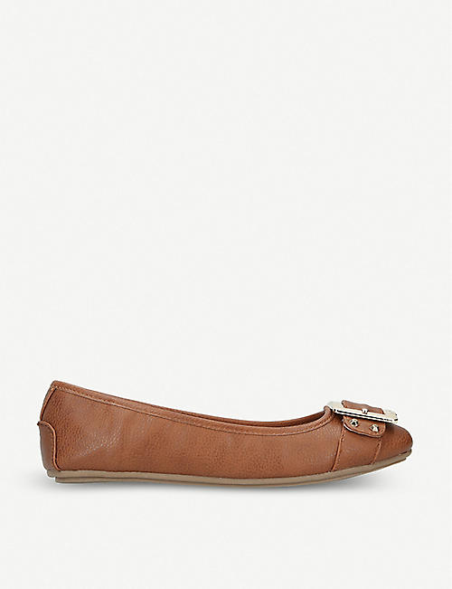 CARVELA: Mission faux-leather ballet flats