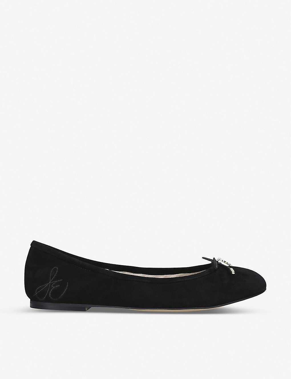 0c6f8987f SAM EDELMAN - Felicia leather ballet flats | Selfridges.com