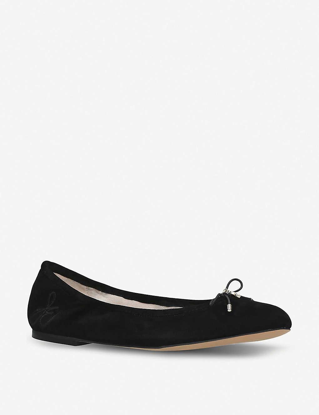 2af279c64 ... Felicia suede ballet flats - Black ...