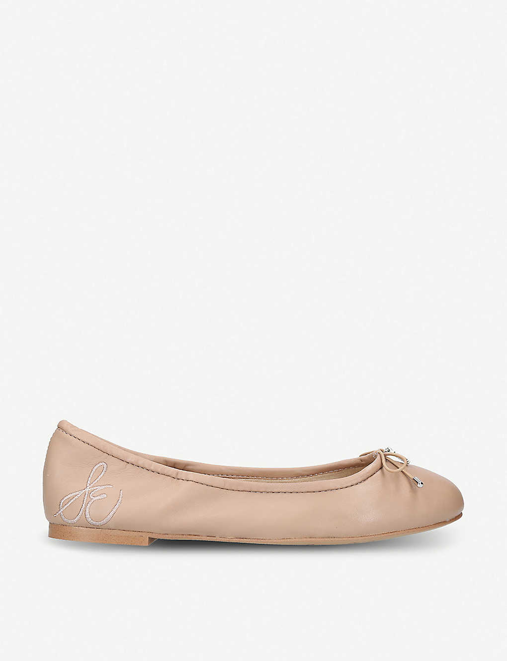 f05cabddab1b SAM EDELMAN - Felicia bow-detail leather ballet flats | Selfridges.com