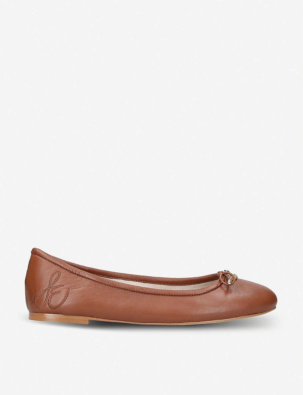 4b3d4c06518c SAM EDELMAN - Felicia leather ballet flats | Selfridges.com