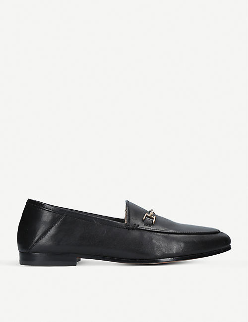 708b30ed54bbed SAM EDELMAN Loraine leather loafers