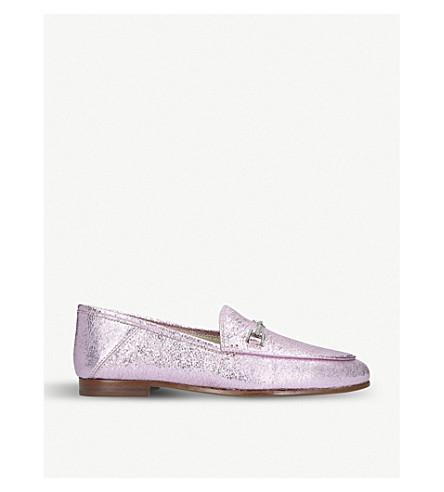 a0b2df6a0 SAM EDELMAN - Loraine metallic leather loafers